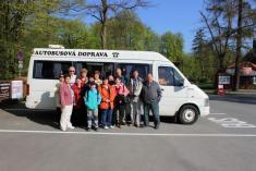 Výlet naBouzov - duben 2015