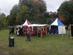 750 let - Areál oslav