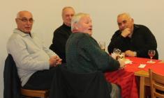 Předvánoční večírek pro důchodce