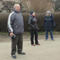 Klub důchodců 31.12.2019 u kapličky