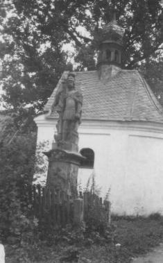 Kaplička Andělů strážných asocha sv.Floriána