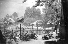 Sněhová nadílka 10.května 1953