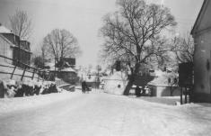 Lípa vzimě 1945 Foto V.Gereš
