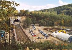 Výstavba železničních tunelů