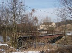 Lávky uželezničního mostu. Vzor 2017.